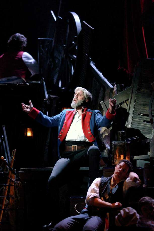 "Chester native Peter Lockyer is starring as Jean Valjean in the 25th anniversary tour of ""Les Miserables"" at the Shubert Theatre in New Haven from April 17 to 21. Photo: Contributed Photo / Connecticut Post Contributed"
