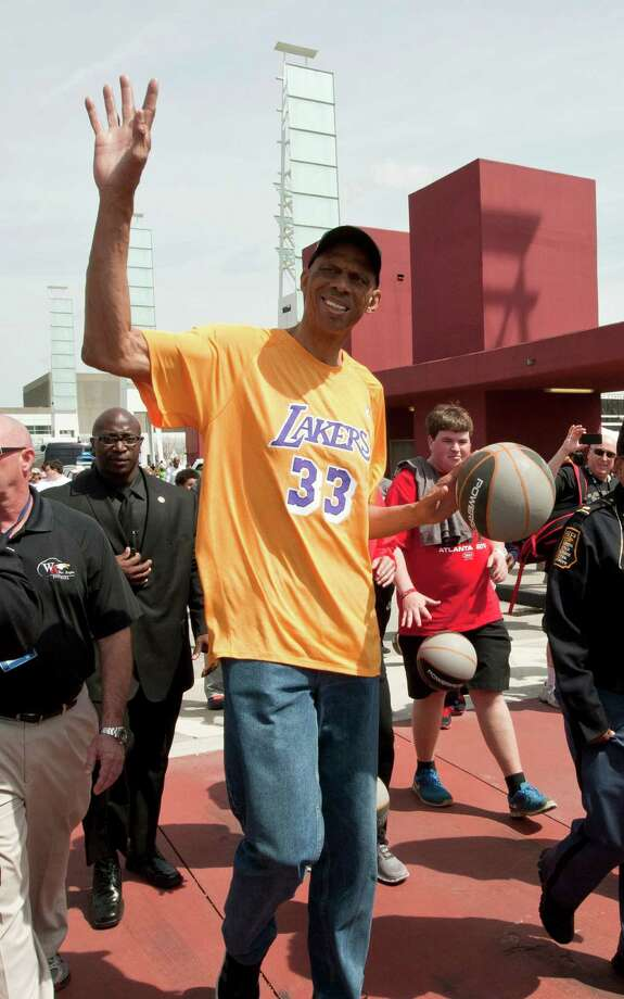 "Kareem Abdul-JabbarThe former NBA all-star looks like he would fit pretty well into the costume if he's up for it.Height: 7'2"" Photo: Wilford  A. Harewood, Associated Press / Invision"