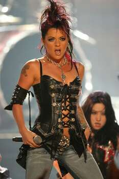 Dilana Robichaux of Houston (via South Africa): Rockstar: Supernova, Season 2 (2006) Photo: Getty Images
