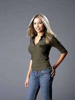 Bethany Harrison of Houston: America's Next Top Model, Cycle 2 (2004) Photo: SASCHA PFLAEGING, CBS / ©2003 CBS BROADCASTING INC.  ALL RIGHTS RESERVED
