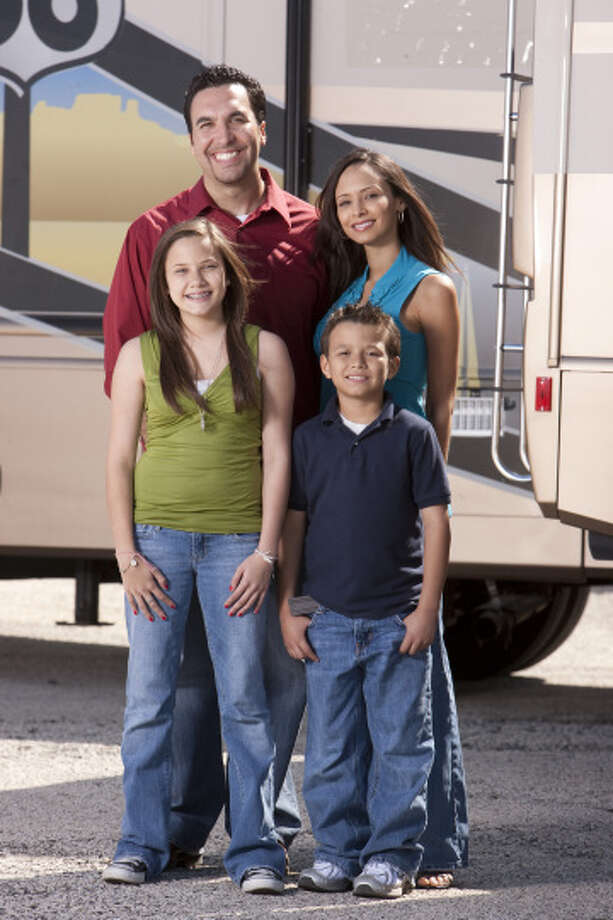 The Rico Family of Katy (Danielle, Erica, Ricardo & Ricky): The Great American Road Trip (2009) Photo: Paul Drinkwater, © NBC Universal, Inc -- FOR EDITORIAL USE ONLY -- DO NOT ARCHIVE -- NOT FOR RESALE / © NBC Universal, Inc -- FOR EDITORIAL USE ONLY -- DO NOT ARCHIVE -- NOT FOR RESALE