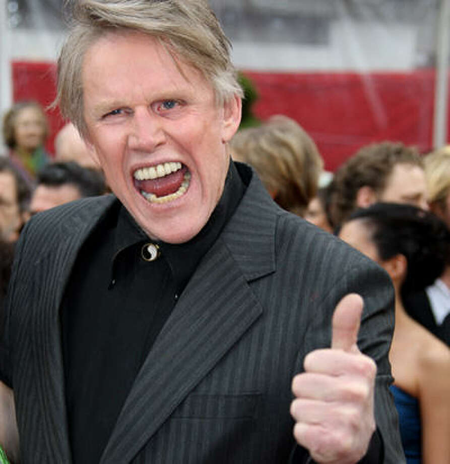 Gary Busey from Bayton, TexasThe Oscar-nominated and toothy actor has been shocking audiences for years with his Buseyisms (mostly acronyms,) reality show appearances, and predictably unpredictable outbursts. Keep clicking to check out more celebrities from Texas that have eccentric personalities.