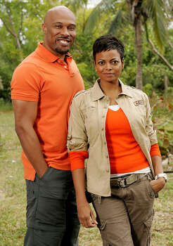 Uchenna and Joyce Agu: The Amazing Race, Season 7 (2004) Photo: ROBERT VOETS, ©2006 CBS BROADCASTING INC. ALL RIGHTS RESERVED. / ©2006 CBS BROADCASTING INC. ALL RIGHTS RESERVED.