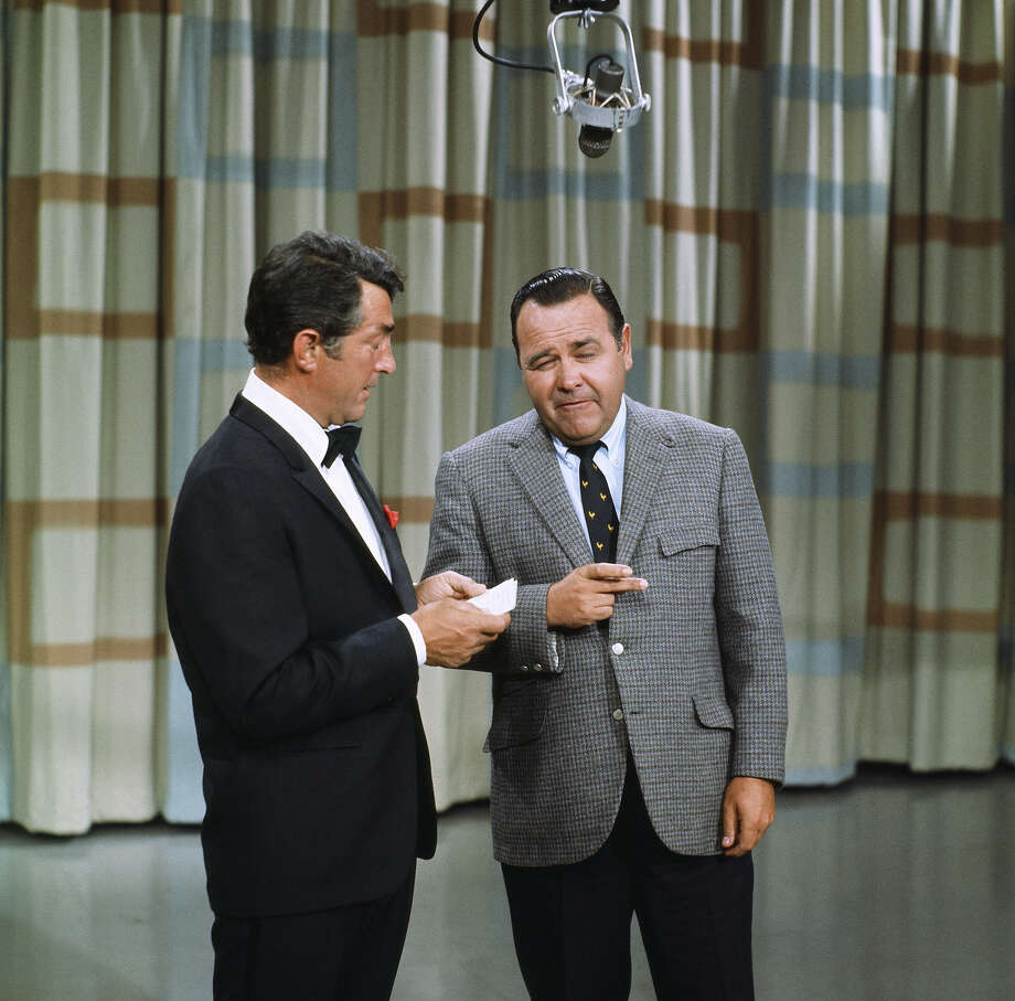 Dean Martin and Jonathan Winters in 1966. Photo: NBC, Getty Images / © NBCUniversal, Inc.