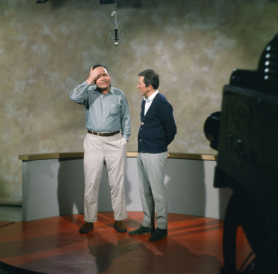 Jonathan Winters, host Andy Williams on the Andy Williams Show in 1967. Photo: NBC, Getty Images / 2012 NBCUniversal, Inc.