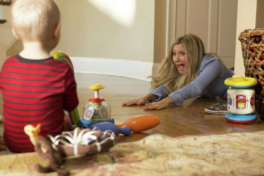 "Ashley Tisdale is a scared mom in ""Scary Movie 5."" She rose to acting fame as Sharpay in the ""High School Musical"" series. Photo: The Weinstein Co."