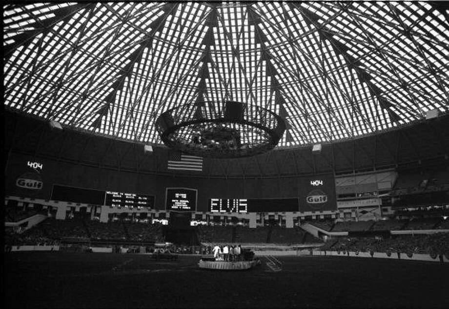 The Astrodome was the world's first, multi-purpose domed athletic stadium. It now sits vacant as county officials seek ideas for converting it to a new use. Photo: Fred Bunch, Houston Chronicle