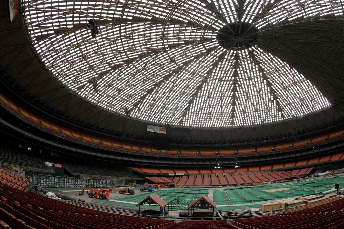 View of the Reliant Astrodome seen Tuesday, April 3, 2012, in Houston.