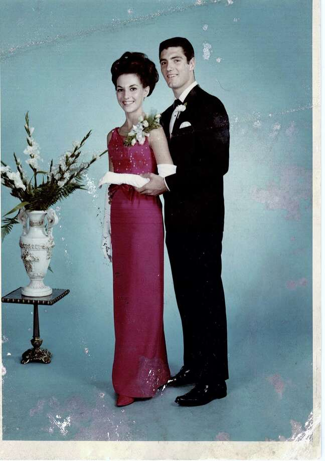 Diane Supak and Tyrone Richard at Jessie Jones High School