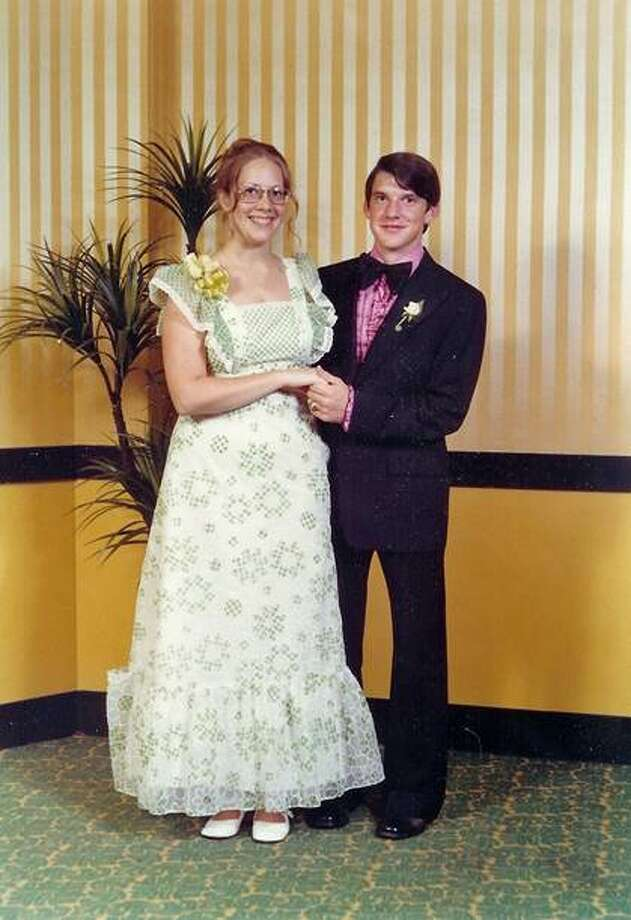 Spring High School 1973  Prom was held at the Shamrock Hilton Note the tear in the ruffle of my dress where my date stepped on it as we were leaving Brennan's after dinner.  Photo: Submitted Photo
