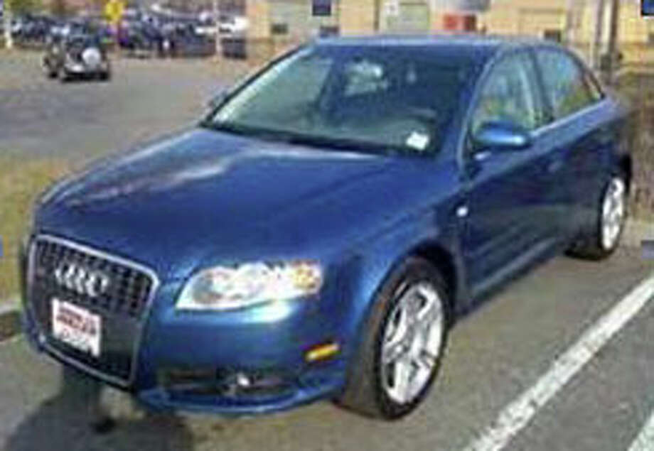 An Audi similar to this vehicle was involved in an April 8 burglary at a White Woods Lane home, according to Westport police. Photo: Contributed Photo / Westport News