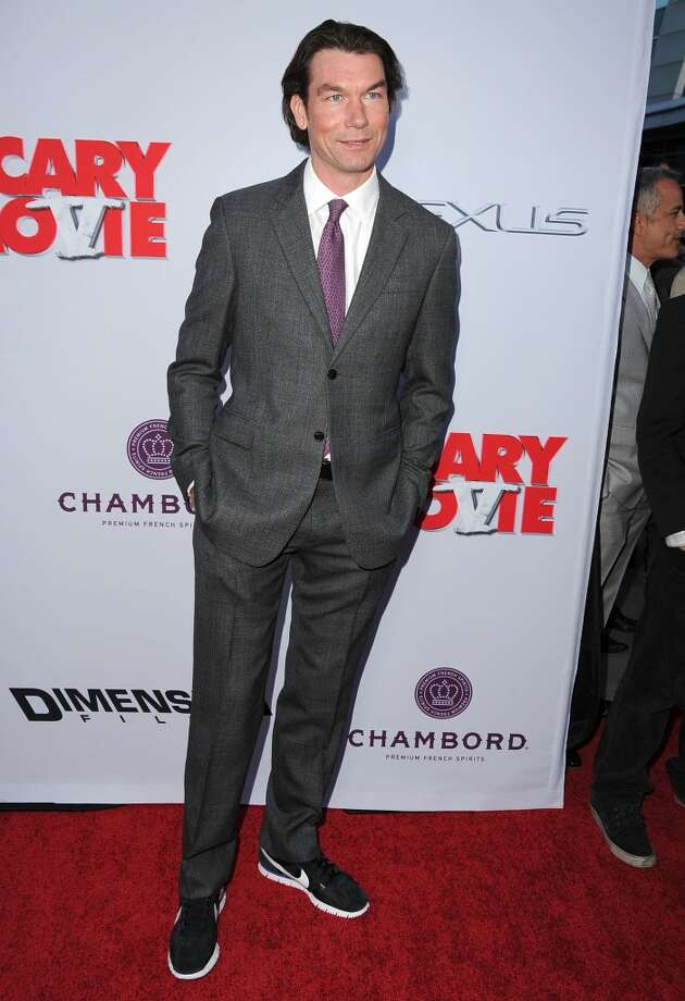 """Jerry O\'Connell arrives at the \""""Scary Movie V\"""" - Los Angeles Premiere at ArcLight Cinemas Cinerama Dome on April 11, 2013 in Hollywood, California.  (Photo by Steve Granitz/WireImage)"""