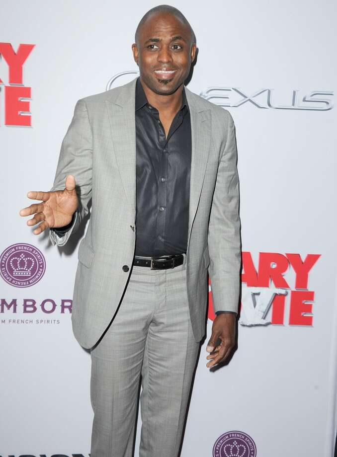 """Wayne Brady arrives at the \""""Scary Movie V\"""" - Los Angeles Premiere at ArcLight Cinemas Cinerama Dome on April 11, 2013 in Hollywood, California.  (Photo by Steve Granitz/WireImage)"""