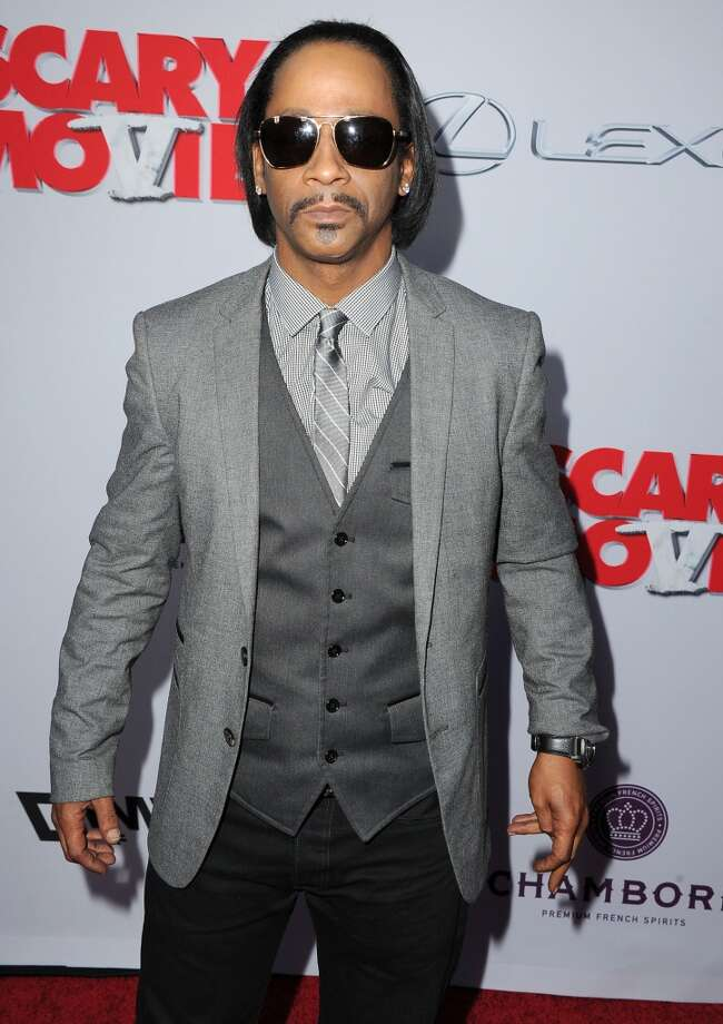 """Katt Williams arrives at the \""""Scary Movie V\"""" - Los Angeles Premiere at ArcLight Cinemas Cinerama Dome on April 11, 2013 in Hollywood, California.  (Photo by Steve Granitz/WireImage)"""