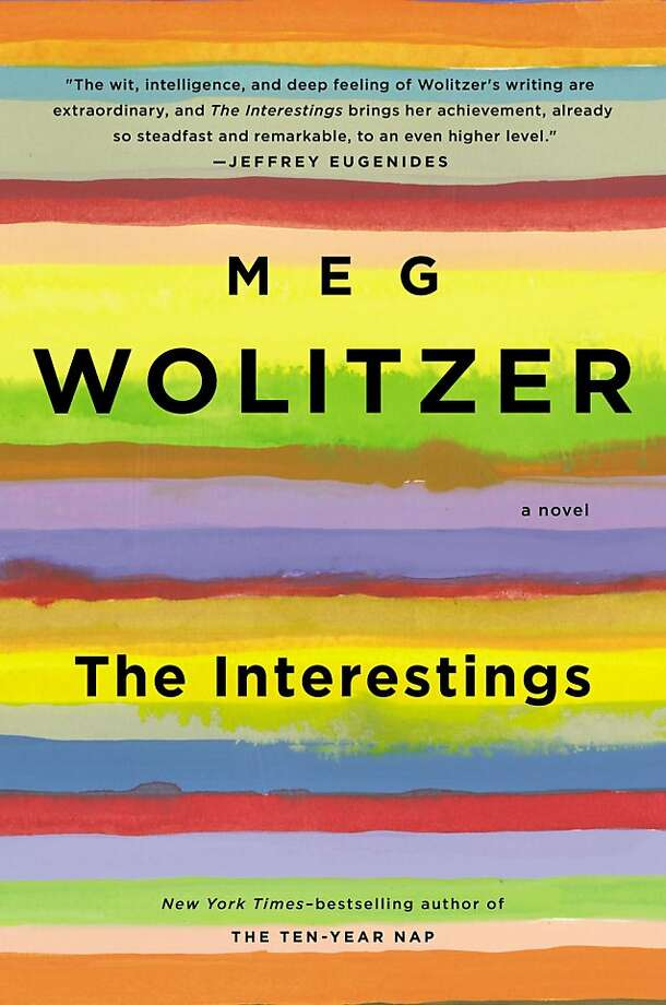 """This book cover image released by Riverhead Books shows """"The Interestings,"""" by Meg Wolitzer. (AP Photo/Riverhead Books) Photo: Associated Press"""