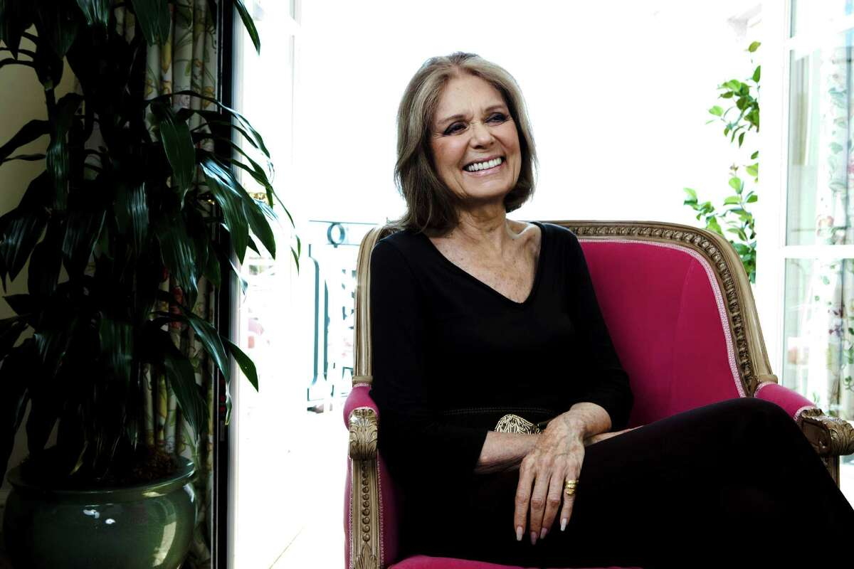Gloria Steinem was part of a 1977 gathering in Houston for the National Women's Conference.