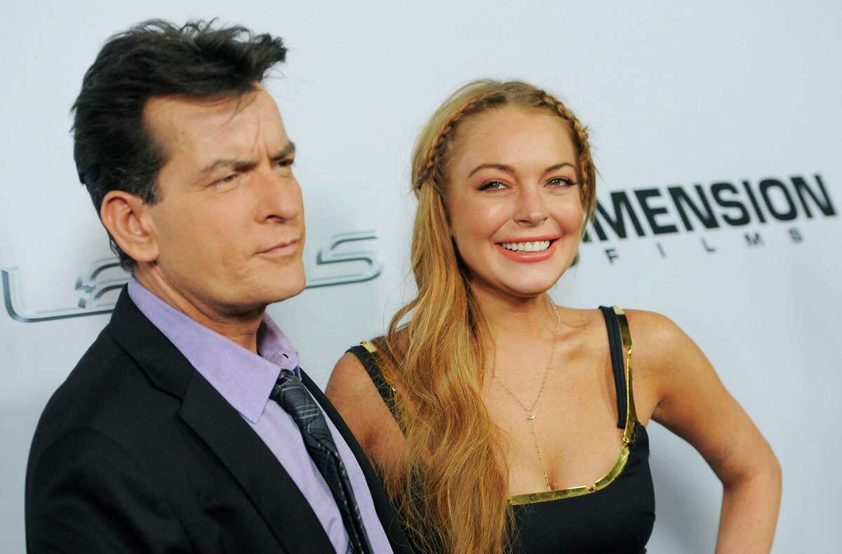 Lohan Shows Up Late For Scary Movie 5 Premiere