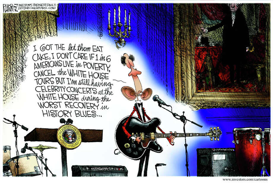 Today's editorial cartoon is by Michael Ramirez of investors.com.