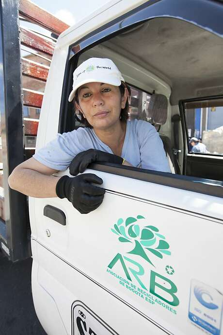 Nohra Padilla began organizing waste pickers into recyclers in Bogota, Colombia, in 1990. Photo: Courtesy Goldman Environmental P