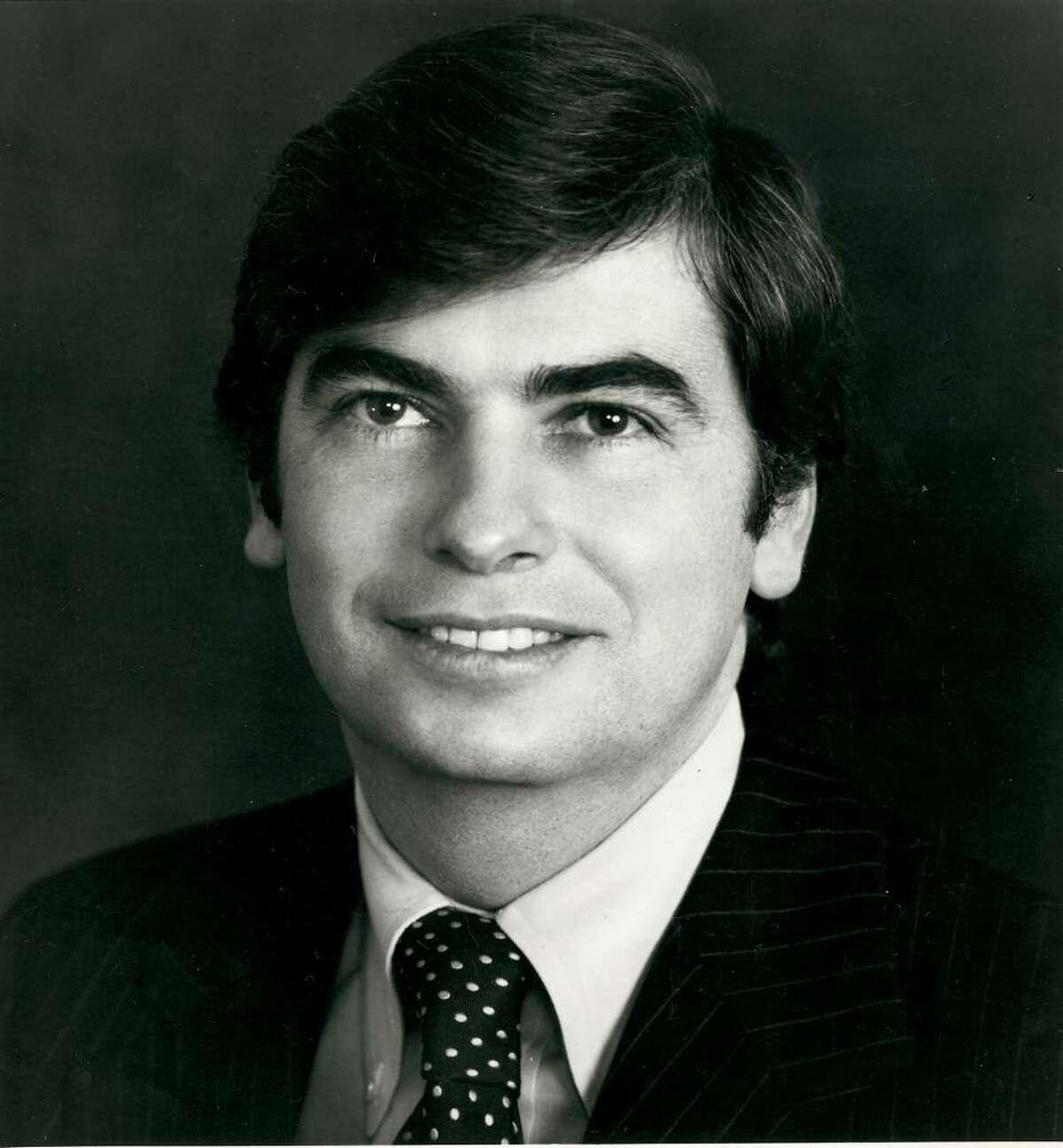 Christopher J. Dodd in October of 1976.