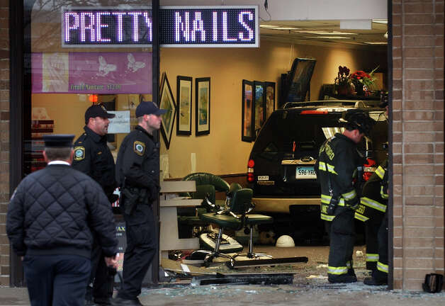 Suv crashes into nail salon 8 hospitalized connecticut post for A perfect 10 nail salon rapid city