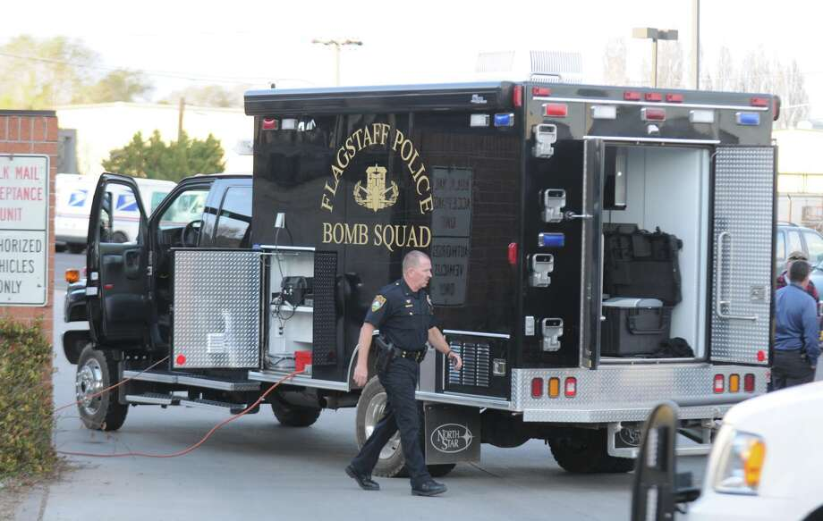 Flagstaff, Ariz., police intercepted a package containing an explosive that was addressed to Sheriff Joe Arpaio at his downtown Phoenix office. Photo: Josh Biggs, MBR / Arizona Daily Sun