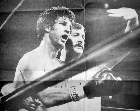 Bubba Busceme's fight against Alexis Arguello on Sunday February 14, 1982