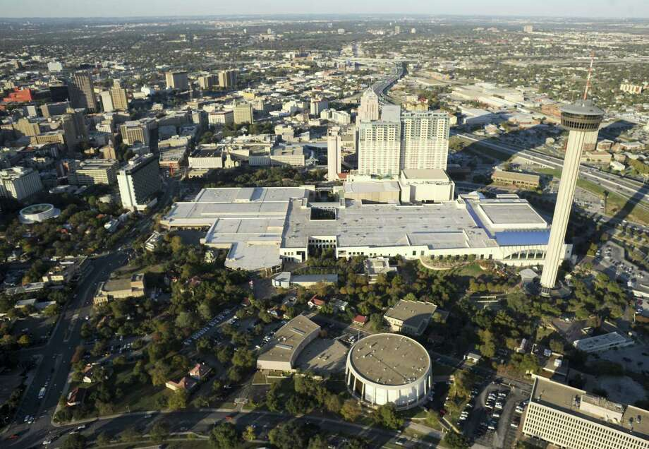 State Rep. Mike Villarreal, D-S.A., has proposed a bill that would allow for a tourism-style development in HemisFair Park. Photo: Express-News File Photo