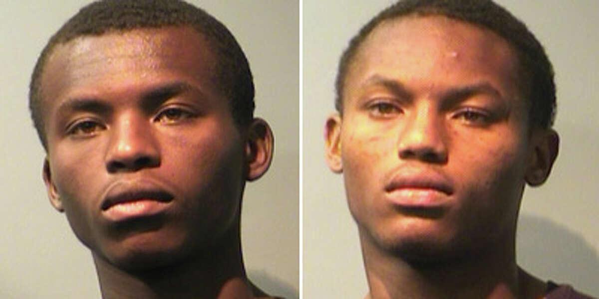 Ron Edward Thomas, left, and Roneil Edward Thomas (Pasadena police)