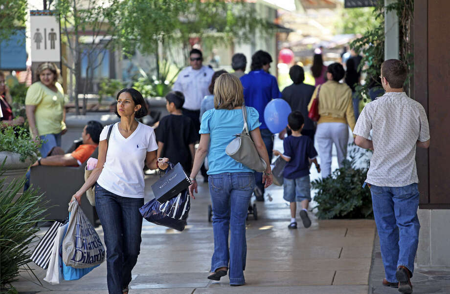 Area leaders were pleased with a study that showed Mexican nationals spent nearly $374 million in Bexar County in 2012. Photo: Express-News File Photo