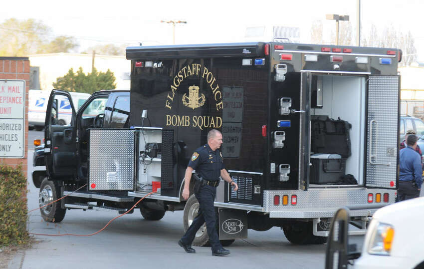 Authorities neutralized a package containing bomblike components that was addressed to Arpaio and was intercepted by a mail carrier who was suspicious of the package.