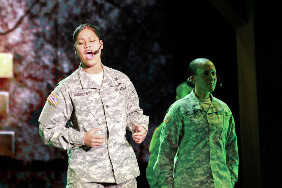 "The ""U.S. Army Soldier Show"" is produced at Joint Base San Antonio - Fort Sam Houston. Courtesy Evan Dyson, IMCOM Public Affairs"
