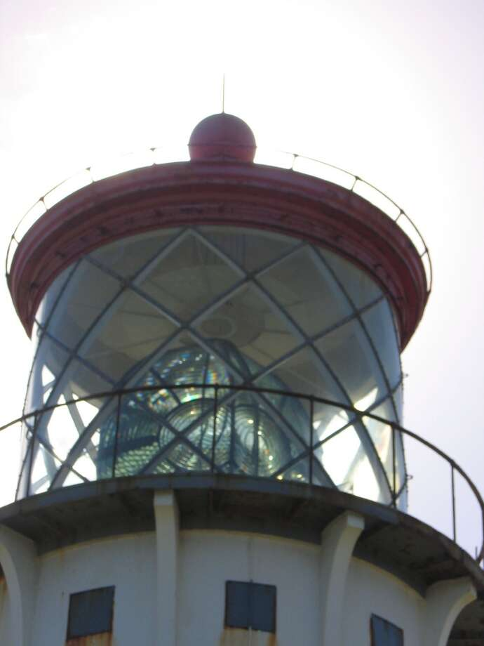 The Kīlauea Point Lighthouse, active from 1913 to 1976 and recently restored  for its centennial, has a second-order Fresnel lens.