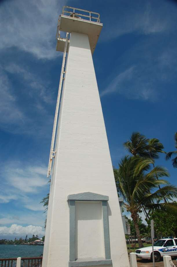 The Lahaina Lighthouse on Maui.