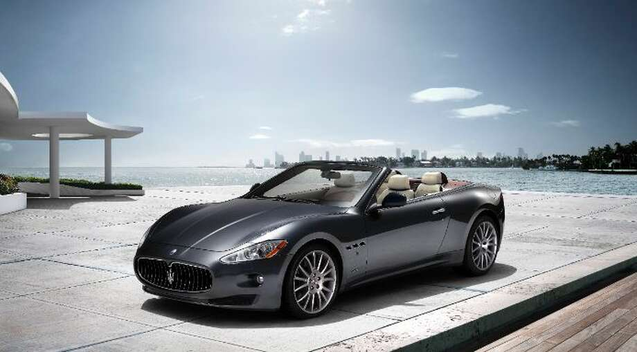A Greenwich luxury car dealership is revving up plans to open a Maserati dealership on Post Road East in Westport. Miller Motorcars operates its flagship dealership on West Putnam Avenue in Greenwich. Its Maserati fleet includes the popular GranTurismo convertible, shown above, which carries a price tag of about $150,000. Photo: Maserati