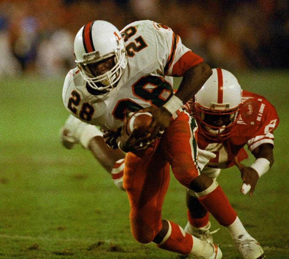 NCAA Div. 1 footbal: Miami (Fla.), 1985-199458 games Photo: (AP Photo)