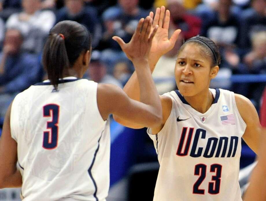 NCAA women's basketball: UConn, 2007-2012 99 games Photo: (AP Photo/Jessica Hill)