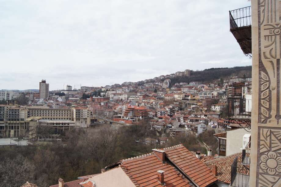 A view of Veliko Tarnovo. Photo by Rosa D\'Ambrosio.
