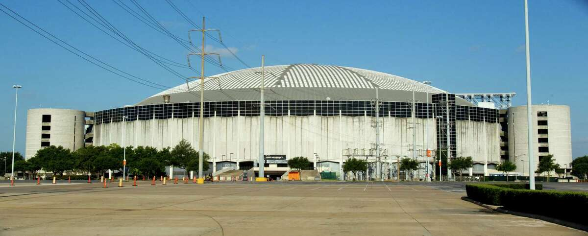 The Reliant Astrodome is shown Wednesday, May 23, 2012, in Houston. ( Brett Coomer / Houston Chronicle )