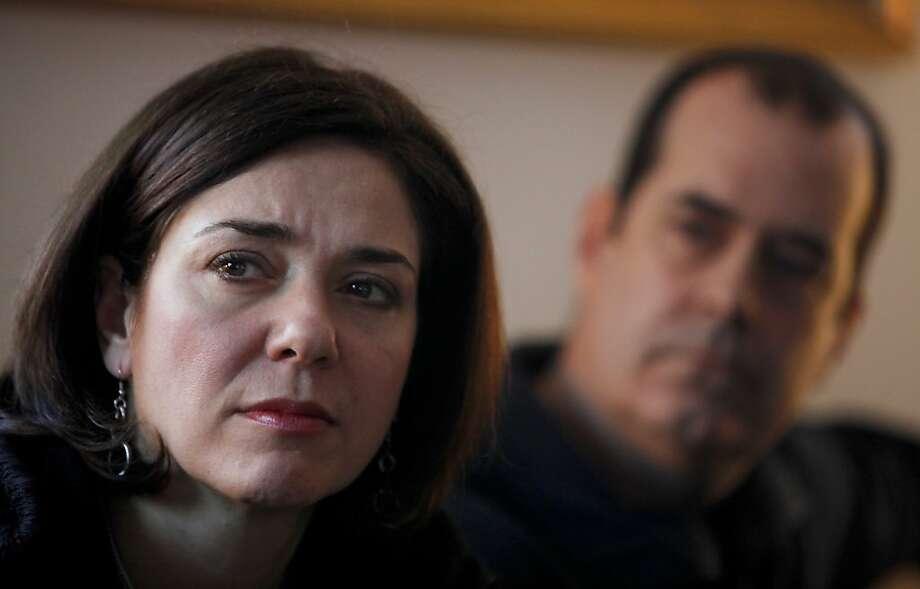 Francine and David Wheeler lost their 6-year-old son in the shooting. Photo: Niko J. Kallianiotis, New York Times