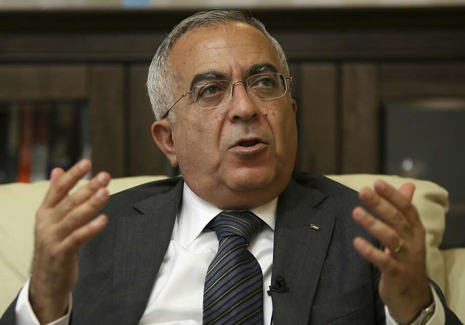 Salaam Fayyad has served as prime minister of the Palestinian Authority since 2007. Photo: Majdi Mohammed, Associated Press