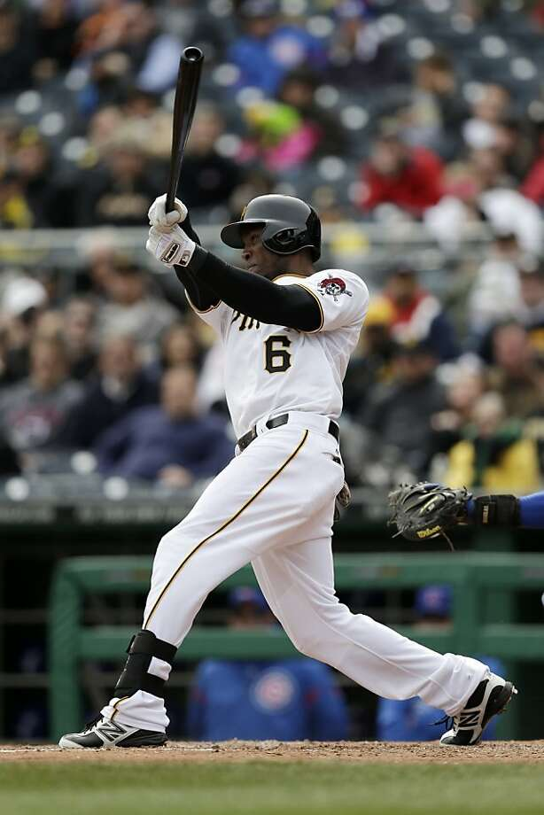Outfielder Starling Marte faces big expectations as the Pirates' new leadoff man this season. Photo: Gene J. Puskar, Associated Press