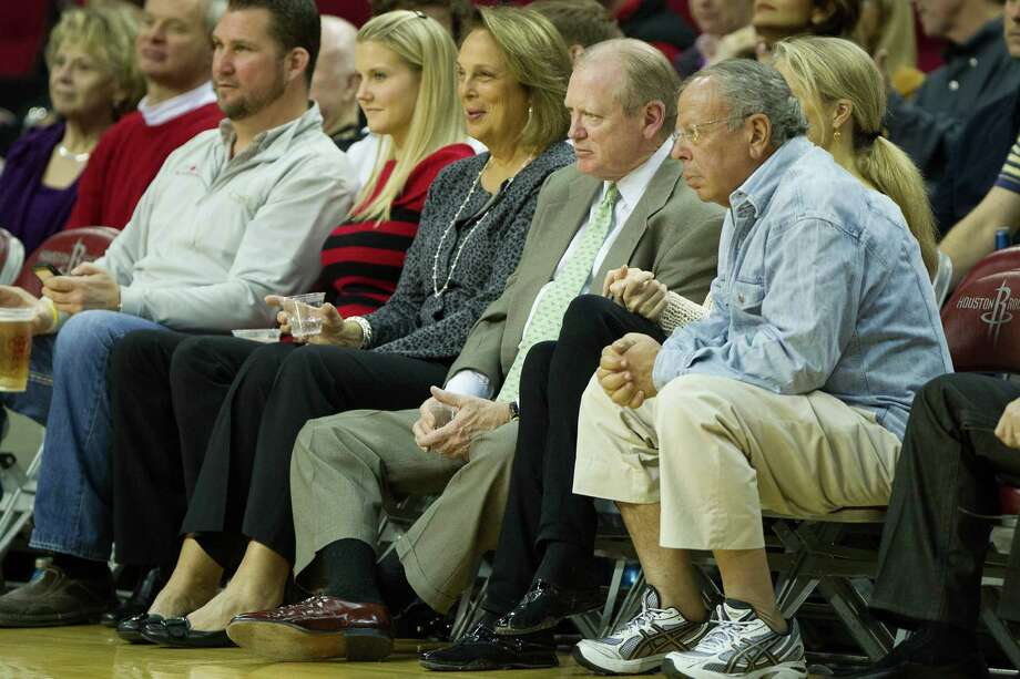 Rockets owner Leslie Alexander isn't afraid to take risks to improve his franchise. Photo: Smiley N. Pool, Staff / © 2012  Houston Chronicle