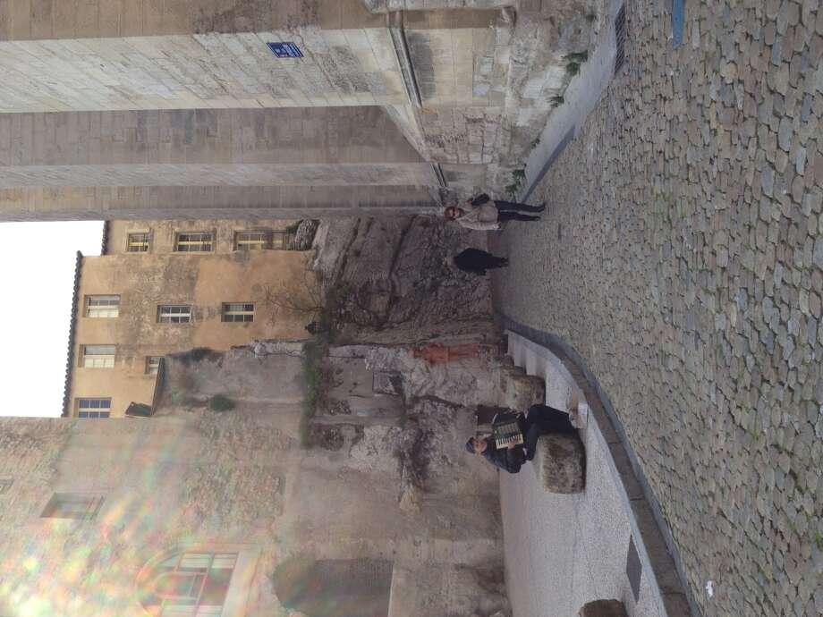 A quiet street in Avignon