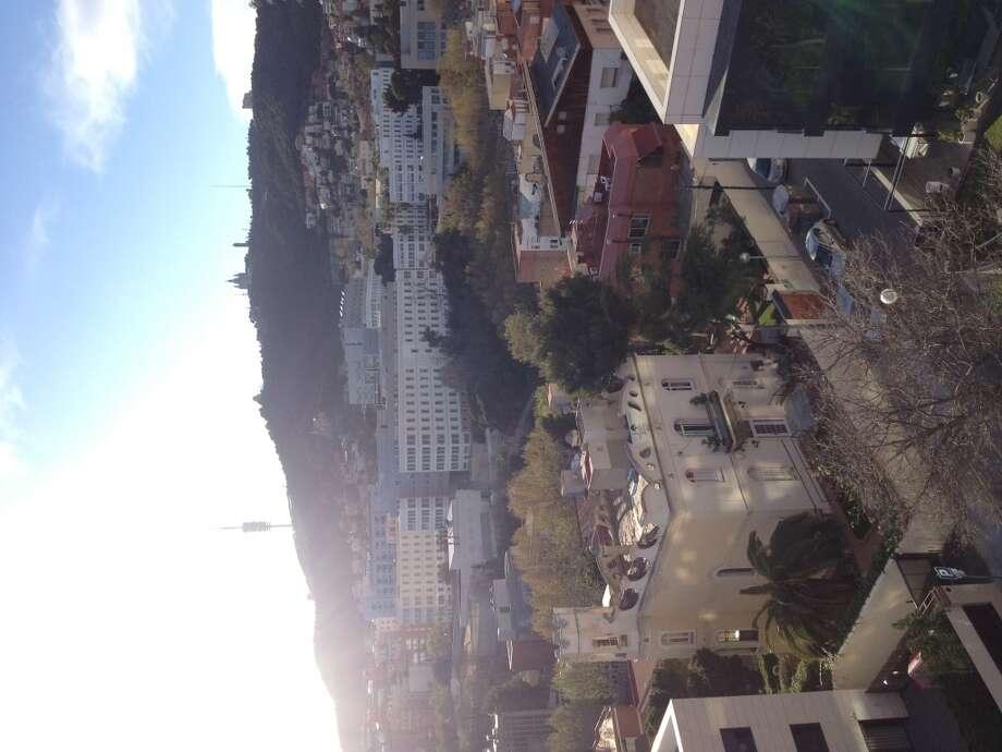 A bird\'s eye view of residential Barcelona