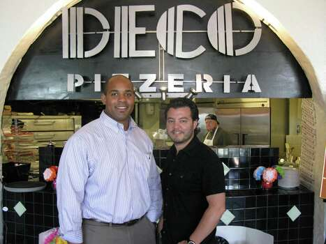 Deco Pizzeria co-owners Kedrick Green and Jacob Valenzuela. Photo: JENNIFER MCINNIS, San Antonio Express-News / JMCINNIS@EXPRESS-NEWS.NET