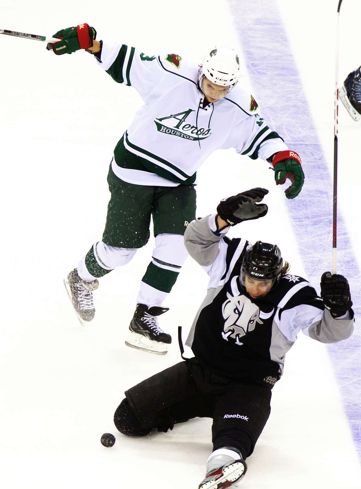 The Aeros 19-year stay in Houston is reportedly over.