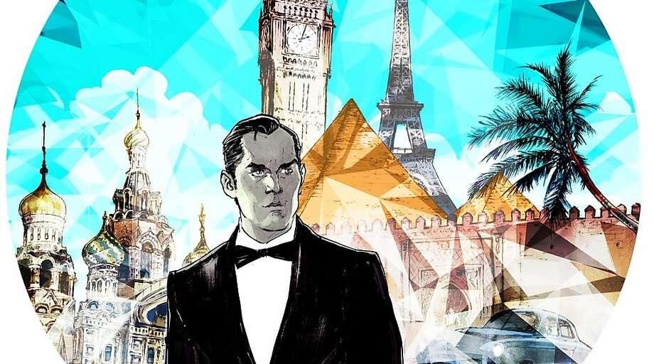James Bond travel illustration Photo: Raul Allen