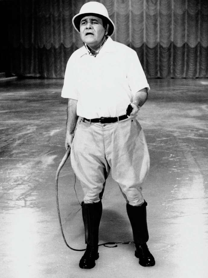 "FILE - This Sept. 22, 1967 file photo released by ABC shows comedian Jonathan Winters, hosting ""Holiday on Ice."" Winters, whose breakneck improvisations inspired Robin Williams, Jim Carrey and many others, died Thursday, April 11, 2013, at his Montecito, Calif., home of natural causes. He was 87. Photo: AP"