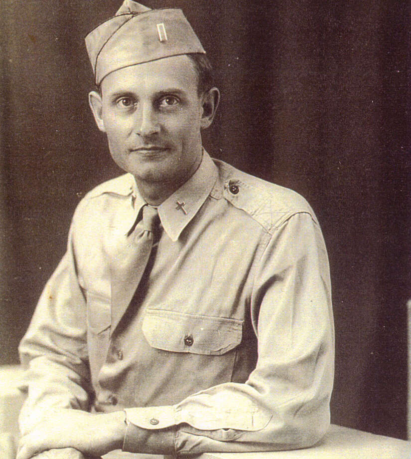 This image provided by the U.S. Army shows Army chaplain (Second Lt.) Emil Kapaun circa 1943. President Barack Obama awarded the Medal of Honor Thursday April 11, 2013 to the Army chaplain from Kansas who risked his life dodging gunfire to provide medical and spiritual aid to wounded soldiers before dying in captivity more than 60 years ago during the Korean War. Photo: AP